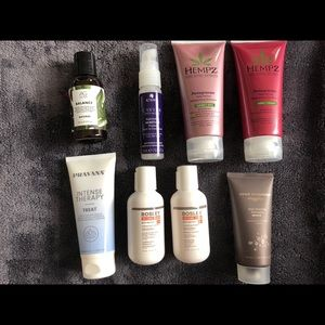 Other - BNIB Set of 8 Travel Sized Hair Care Products